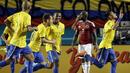 Карлос Дунга дебютира с победа начело на Бразилия