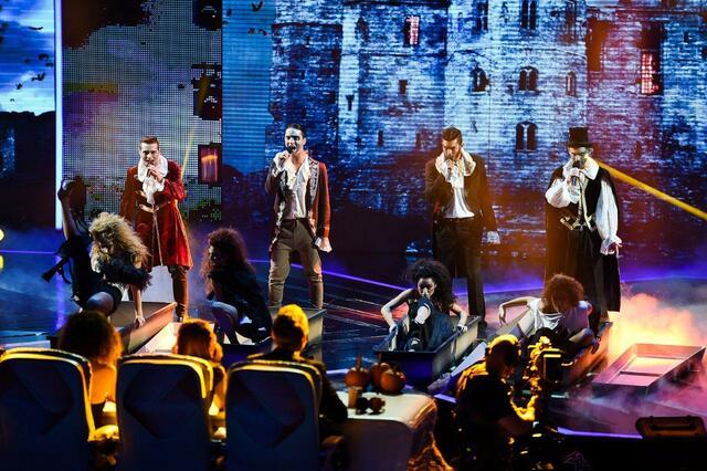 Духът на Хелоуин завладя сцената на X Factor (СНИМКИ)