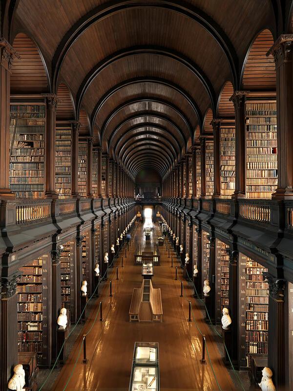 Ще останете очаровани! Вижте най-забележителните библиотеки в света (СНИМКИ)