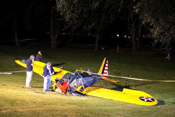 Харисън Форд пострада при самолетна катастрофа (СНИМКИ)