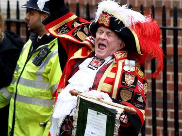 Името на новата принцеса на Великобритания, доведе до истерия жителите й