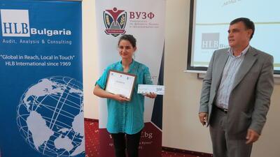 ВУЗФ обра наградите за млад одитор