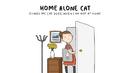 Какво прави котката ви, докато сте на работа