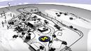 В САЩ построиха цял град за тестване на автомобили (ВИДЕО)
