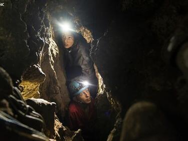 Дребен прародител на човека бе открит в африканската пещера
