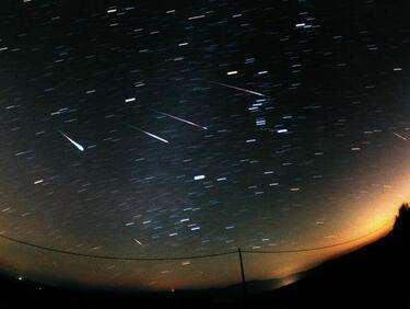 В средата на декември очакваме най-големият метеоритен дъжд за годината