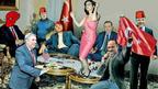 Скандален колаж взриви мрежата: Кунева танцува на масата на Ердоган!