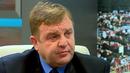 Каракачанов: Брюксел иска да пуска свободно турците, а българите и румънците да проверява