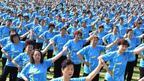 Възрастни китайки - в Гинес с масов синхронен танц