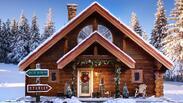 Невероятно! Вижте къде живее Дядо Коледа (СНИМКИ)