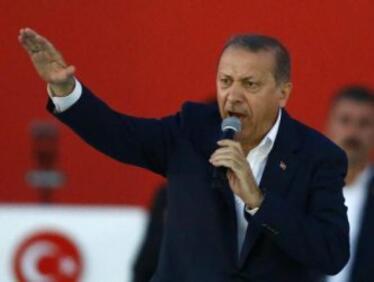 Ердоган обяви национална мобилизация срещу тероризма
