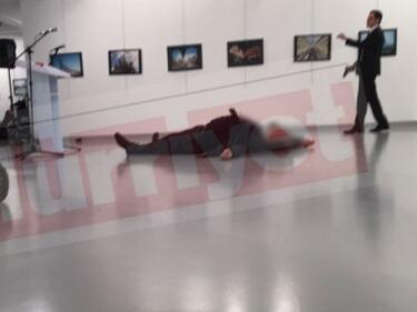 Анкара имала доказателства, че атентатът срещу руския посланик е свързан с Гюлен