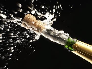 Ето как да познаем доброто шампанско за Нова година