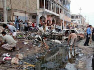 Над 14 убити в два атентата в Багдад за ден