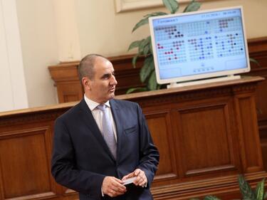 Цветанов: Парламентът да приеме мажоритарната система още преди изборите