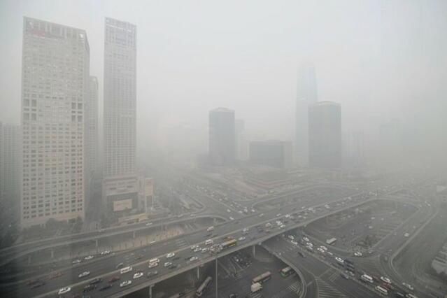 Екополиция ще бори адския смог в Пекин (снимки)