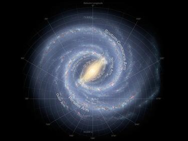 """Не е за вярване! Млечният път """"краде"""" звезди от друга галактика"""