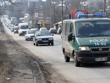 Протестно шествие на градския транспорт в Перник