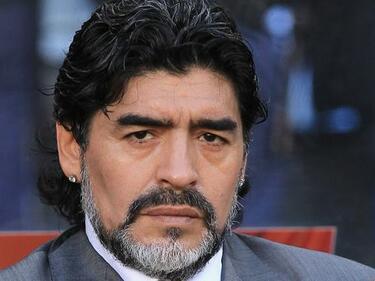 Марадона си навлече ядове и с испанската полиция