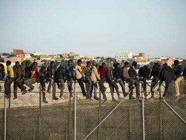 Африканско нашествие в Мароко (СНИМКИ)