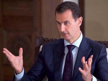 Асад призова Тръмп да отмени санкциите срещу Сирия