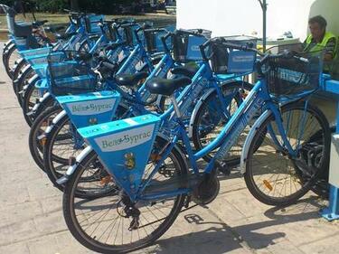 Пускат обществени велосипеди и в София
