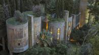 Невероятна идея - замък от изоставена фабрика (снимки)