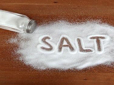 Изненада! Дефицитът на сол в организма също води до смърт