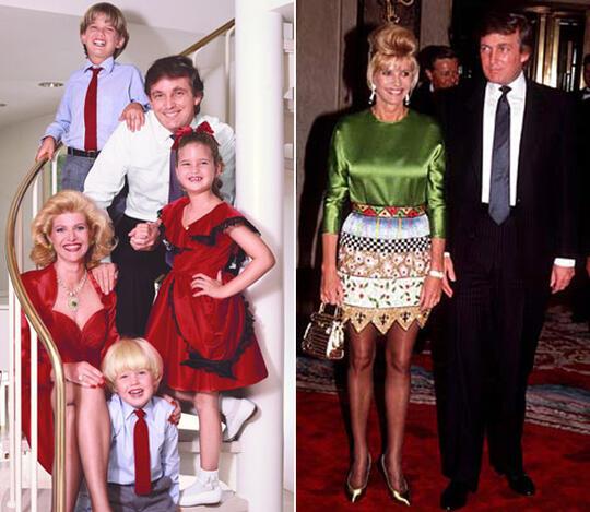 Първата г-жа Тръмп пише мемоарна книга за децата им (СНИМКИ)