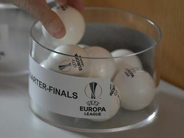 Битка на страховити агитки в 1/4 финалите на Лига Европа