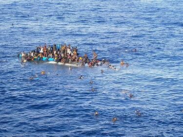 Затоплянето на времето върна мигрантите в Средиземно море