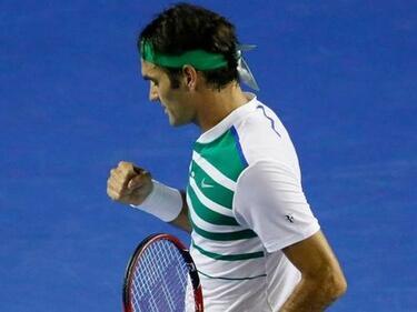 Федерер с юбилейна титла