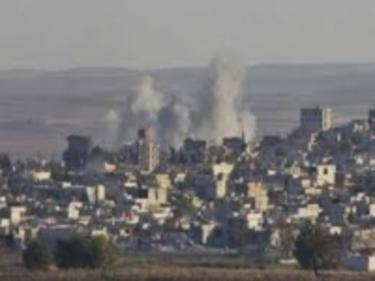 Ожесточени военни действия в Източен Дамаск