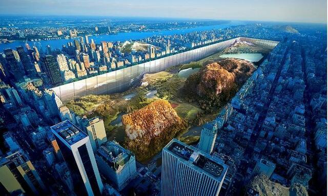 Най-невероятният небостъргач ще се извисява в Ню Йорк (СНИМКИ)