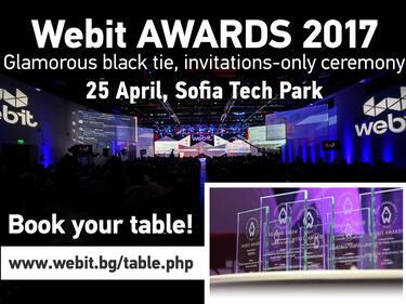 Webit подготвя невиждана досега церемония за годишните си награди