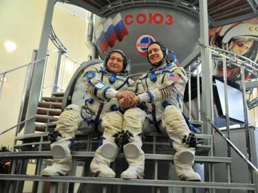 Новият екипаж полетя към Международната космическа станция (ВИДЕО)