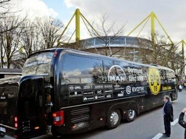Руснак взривил автобуса на Борусия Дортмунд