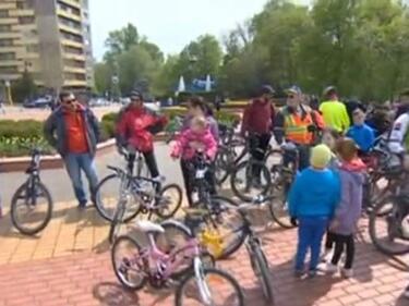 Кауза на колело в подкрепа на болните от хемофилия