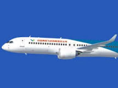 Пускат във въздуха първия китайски пътнически самолет (ВИДЕО)