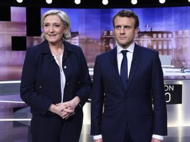 Макрон спечели решаващия дебат срещу Льо Пен