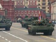 Без авиация премина Парадът на победата в Москва (СНИМКИ)