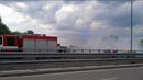 Кола се запали в движение в Пловдив