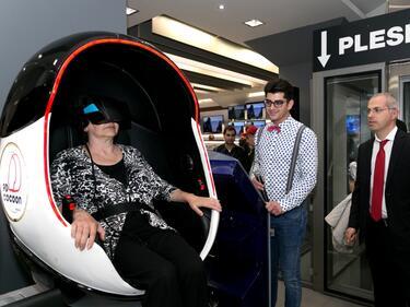 Plesio отвори магазин на бъдещето в София