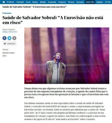 """Победителят на """"Евровизия"""" разкри тайната си: Чака трансплантация (СНИМКИ)"""