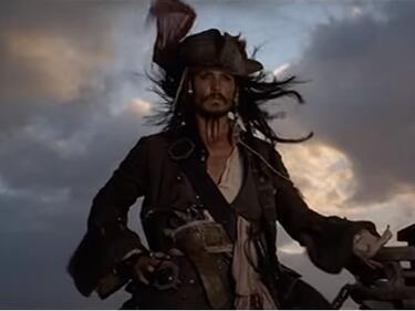 """Компютърни пирати """"нападнаха"""" капитан Джак Спароу"""