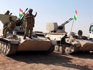 НАТО се настанява в Ирак след победата над джихадистите