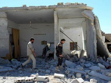 Джихадистите атакуват правителствените сили в Централна Сирия