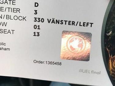 Фалшиви билети за финала на Лига Европа заляха Манчестър (СНИМКА)