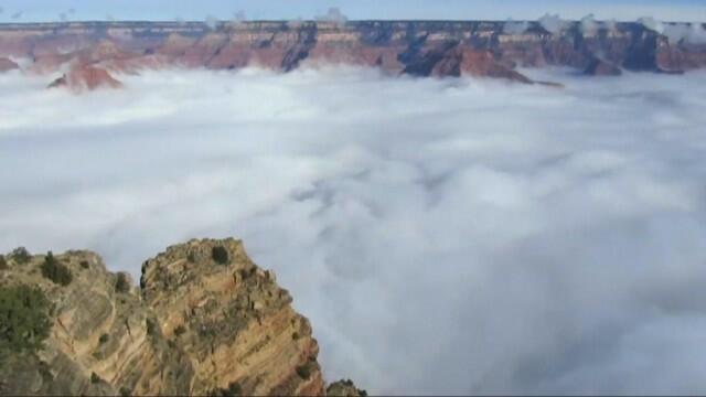 Невероятни кадри! Гранд Каньон се превърна в море (СНИМКИ/ВИДЕО)