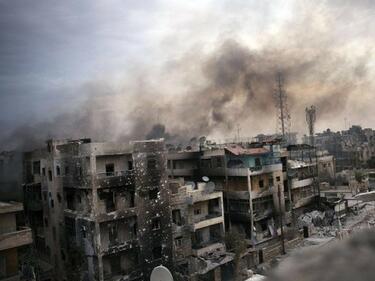 US коалицията в Сирия изби джихадистки семейства в Маядин
